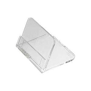 (業務用10セット)共栄プラスチックメタクリル豆カード立(大)5個入L-50-5×10セット