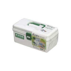 (業務用5セット)不動技研救急箱SホワイトF-2485
