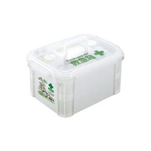 (業務用5セット)不動技研救急箱ホワイトF-2465