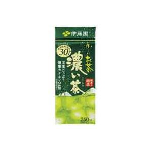 (業務用8セット)伊藤園 紙パックお~いお茶濃い味 250ml×24本 ×8セット