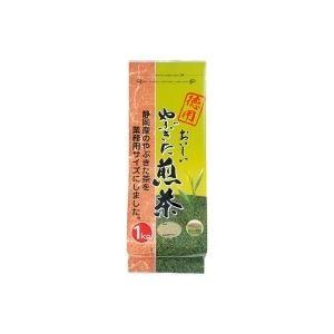 (業務用20セット)大井川茶園徳用おいしいやぶきた煎茶1kg