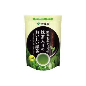 (業務用8セット)伊藤園抹茶入りのおいしい緑茶1kg14526×8セット