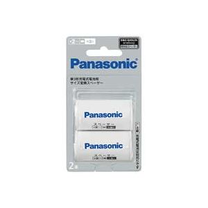 (業務用10セット)Panasonicパナソニック単2サイズスペーサーBQ-BS2/2B(2本入)×10セット