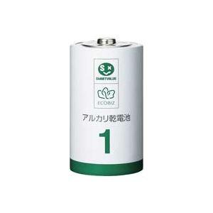 (業務用30セット)ジョインテックスアルカリ乾電池III単1×10本N211J-10P×30セット