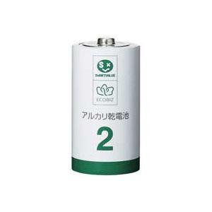 (業務用30セット)ジョインテックスアルカリ乾電池III単2×10本N212J-10P×30セット