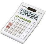 (業務用30セット) カシオ CASIO W税率ミニジャスト電卓 MW-100T-WE-N