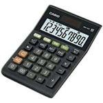 (業務用30セット) カシオ CASIO W税率ミニジャスト電卓 MW-100T-BK-N