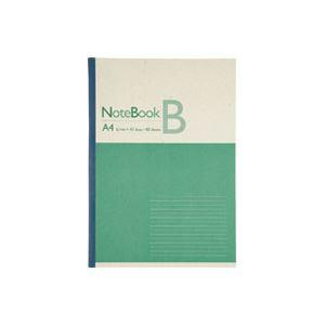 (業務用20セット)ジョインテックス 再生紙ノート A4 B罫1冊 P044J