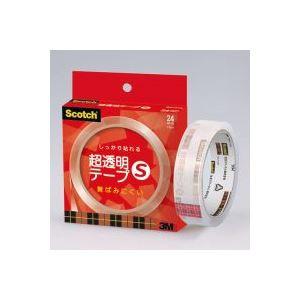 (業務用100セット) スリーエム 3M 超透明テープS BH-24N 紙箱入 ×100セット