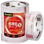 (業務用50セット) スリーエム 3M 超透明テープS BK-24N 工業用包装5巻 ×50セット