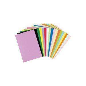 (業務用5セット)リンテック 色画用紙R/工作用紙 【A4 50枚×5セット】 うすあお
