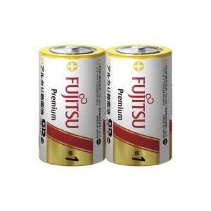(業務用100セット)富士通FUJITSUアルカリ乾電池PREMIUM単12本LR20FP(2S)×100セット
