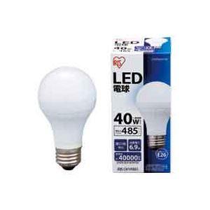 (まとめ買い)アイリスオーヤマ LED電球 昼白色 LDA7N-H-V19 【×40セット】