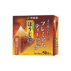(業務用20セット)伊藤園 プレミアムティーバッグ ほうじ茶 50バッグ
