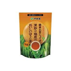 (まとめ買い)伊藤園 深炒り焙煎のおいしいほうじ茶 1kg 【×8セット】