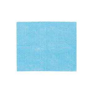 (まとめ買い)東京メディカル カウンタークロス ハンキー ブルー 100枚 【×4セット】 - 拡大画像