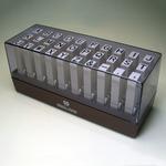 (業務用20セット) サンビー 連結式ゴム印/エンドレススタンプ 【アルファベット/ゴシック】 EN-EG1