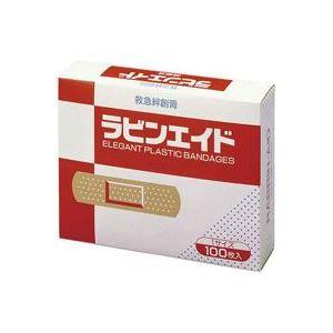 (業務用100セット)リバテープ製薬救急絆創膏ラビンエイド60534