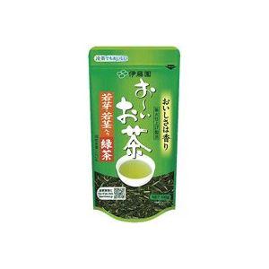 (業務用20セット)伊藤園 おーいお茶 若芽・若茎入り緑茶 100g ×20セット