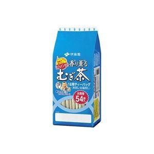 (まとめ買い)伊藤園 香り薫る麦茶ティーバッグ 54パック 【×30セット】