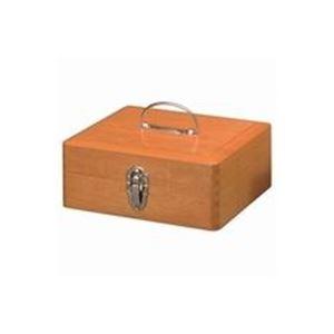 (業務用2セット)yoshino木製かけ錠印箱Y73大