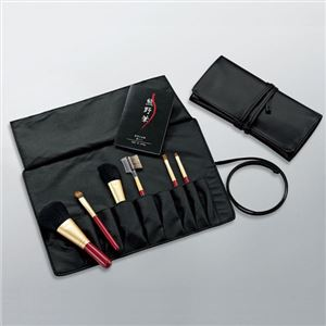 熊野化粧筆 ブラシ専用ケース付 206-05M