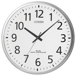 リズム時計シチズン電波掛時計8MY465-019