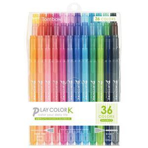トンボ鉛筆プレイカラーK36色セットGCF-013