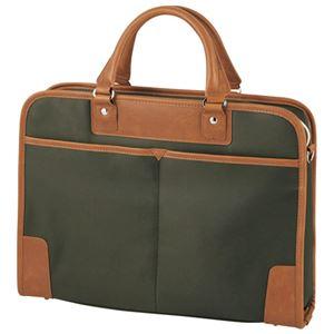 エレコム ビジネスバッグ BM-OR03GN グリーン h01