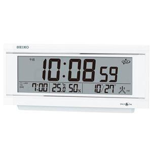 セイコークロックセイコー衛星電波デジタル時計GP501W