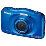 ニコン デジタルカメラ COOLPIX W100BL ブルーの写真