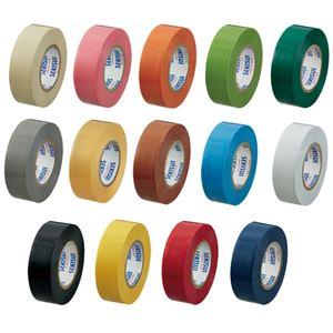積水化学工業 ビニールテープ V360-01-12C 10m 全14色組