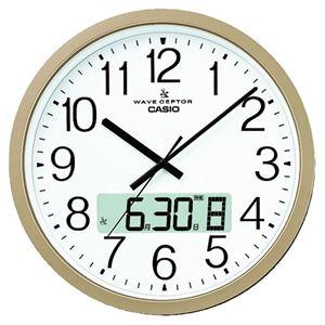 カシオ計算機 カシオ電波掛時計 IC-4100J-9JF
