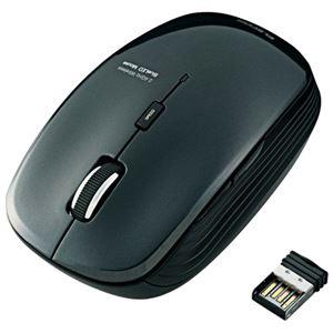 エレコム ワイヤレスLEDマウス ブラック M-BL21DBBK