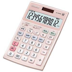 カシオ計算機 本格実務電卓 JS-20WK-PK