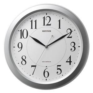 リズム時計リズム電波掛時計4MYA26SR19