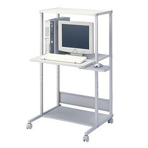 サンワサプライ パソコンラック RAC-EC34 ライトグレー