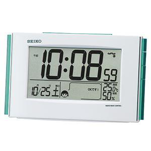 セイコークロック セイコー 電波置時計 SQ776W