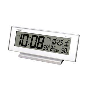 SEIKO液晶点灯電波目ざまし時計 086-03B