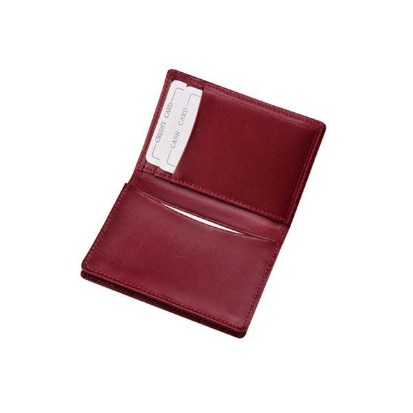 キップ名刺入 ワイン 150-12Bf00