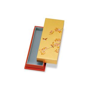 ペンBOX 箔工芸 花鳥 294-05B