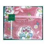 マイヤー毛布ピンク 137-03Bの画像