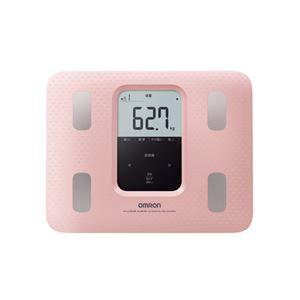 オムロン 体重体組成計ピンク 184-04B