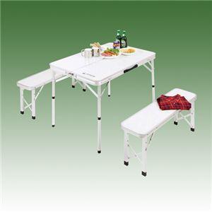 ベンチインテーブルセット 216-09B