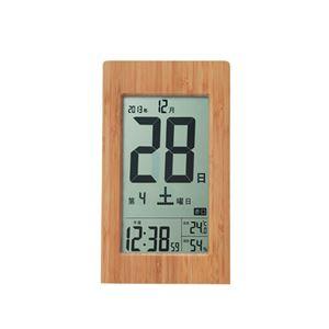 竹の日めくり電波時計 091-03Bの商品画像