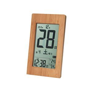 竹の日めくり電波時計 091-03Bの紹介画像2