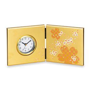 大和屏風時計桜ロマン 100-04B - 拡大画像