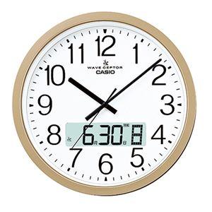 カシオ大型電波掛け時計 341-01B - 拡大画像