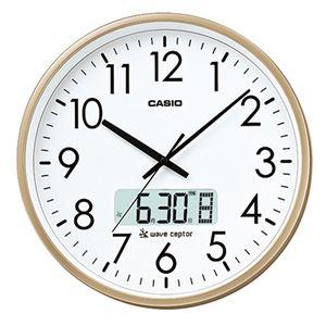 カシオ大型電波掛け時計 341-09B - 拡大画像