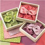 彩美花飾りふろしき・小ふろしき緑 422-08Aの画像